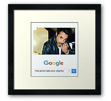 Robert Downey Jr. fangirl edit Framed Print