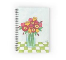Bright Bouquet of Flowers Spiral Notebook