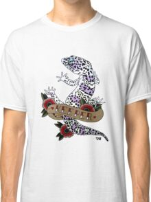"""Keeper Leopard Gecko"" Classic T-Shirt"