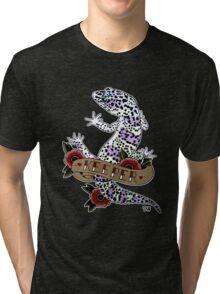 """""""Keeper Leopard Gecko"""" Tri-blend T-Shirt"""