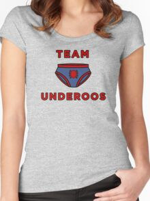 Underoos- Spiderman Women's Fitted Scoop T-Shirt