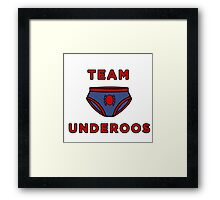 Underoos- Spiderman Framed Print