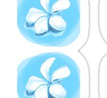 Flower pattern Sticker