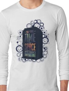 Doctor Who - Space and Time Long Sleeve T-Shirt