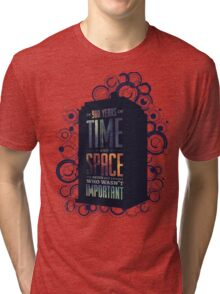 Doctor Who - Space and Time Tri-blend T-Shirt