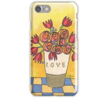 Tulips and more sending you love iPhone Case/Skin