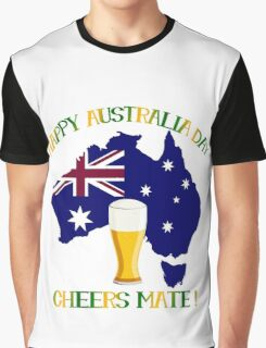 Happy Australia Day Graphic T-Shirt