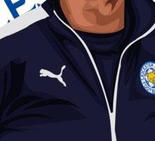 Claudio Ranieri Sticker