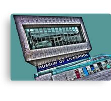 The modern museum of Liverpool by Tim Constable Canvas Print