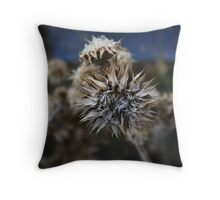 Dried Flowers Throw Pillow