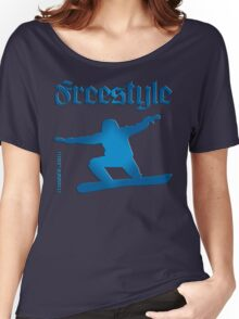 Freestyle snowboard Women's Relaxed Fit T-Shirt