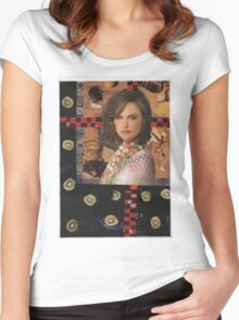 Natalie Portman Women's Fitted Scoop T-Shirt