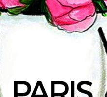 Paris Bag #fashion #shopping Sticker