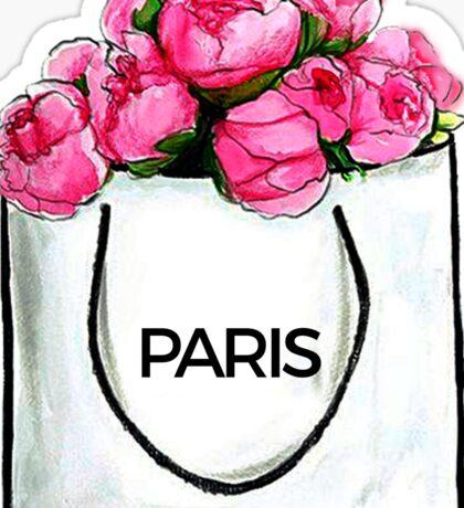 Paris Bag #fashion #shopping Sticker