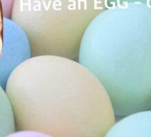 Have An Egg-Cellent Easter Card Sticker