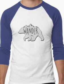 WANDER Men's Baseball ¾ T-Shirt