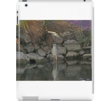 Heron. iPad Case/Skin