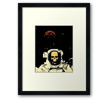 Undead Spaceman Framed Print