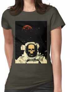 Undead Spaceman Womens Fitted T-Shirt