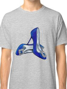 Shoes #blue #sexandthecity Classic T-Shirt