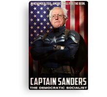 Captain Sanders Canvas Print
