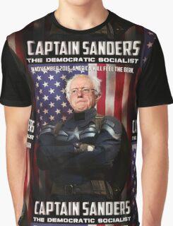 Captain Sanders Graphic T-Shirt