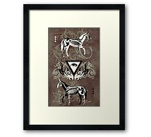 Undead unicorns #2 Framed Print