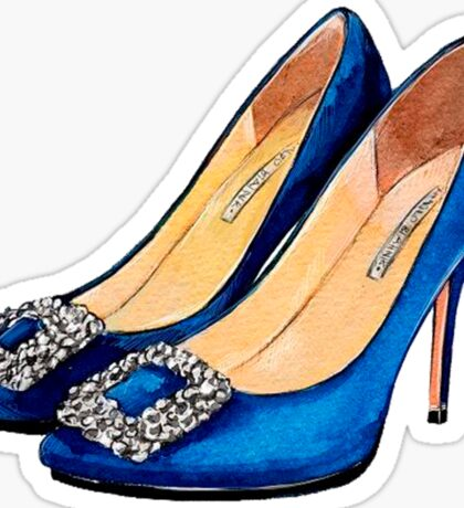 Blue Heels #fashion Sticker