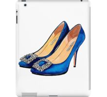 Blue Heels #fashion iPad Case/Skin