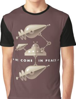 Space Invasion Graphic T-Shirt
