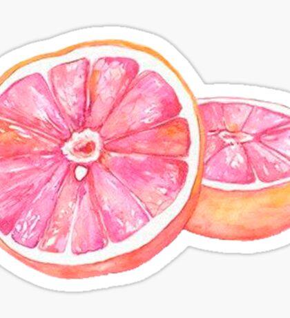 Grapefruit Sticker