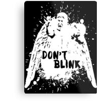 Doctor who - Don't Blink  Metal Print