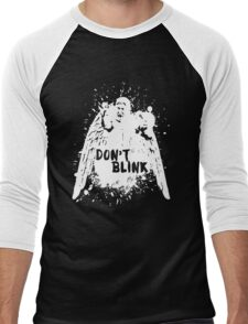 Doctor who - Don't Blink  Men's Baseball ¾ T-Shirt