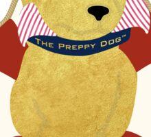 Nautical Dog Preppy Golden Retriever Sailor Sticker