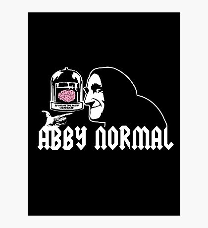 Abby Normal Photographic Print