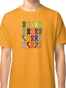 Cancer Ribbons - Cancer Awareness Classic T-Shirt