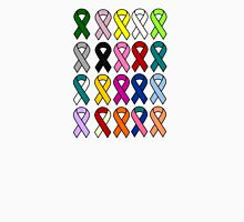 Cancer Ribbons - Cancer Awareness Unisex T-Shirt