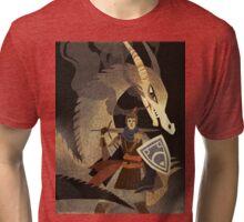 Bossfight Tri-blend T-Shirt