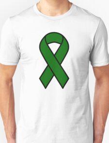 Emerald Green Liver Cancer Ribbon Unisex T-Shirt