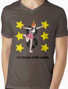 I'm Queen of the castle Mens V-Neck T-Shirt