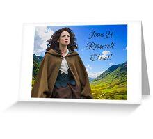 Outlander/Claire Fraser Greeting Card