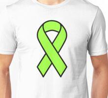 Lime Lymphoma Ribbon Unisex T-Shirt
