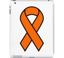 Orange Kidney Cancer and Leukemia Ribbon iPad Case/Skin