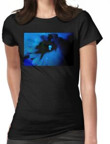 Blue Daffodil. Womens Fitted T-Shirt