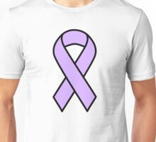 Periwinkle ribbon: Stomach and Esophageal Cancer Unisex T-Shirt