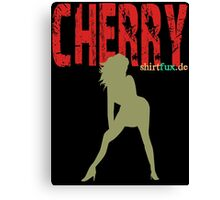 Cherry - great wife Canvas Print