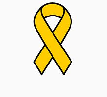 Gold Childhood Cancer Ribbon Unisex T-Shirt