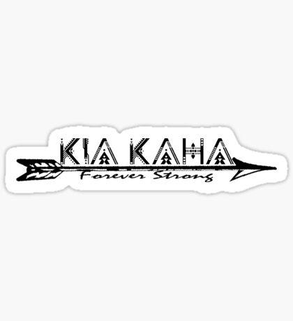 Kia Kaha Sticker