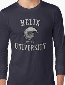 Helix University. Long Sleeve T-Shirt