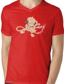 Smeargle Splatter Mens V-Neck T-Shirt